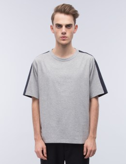 MARNI Multi Fabric Two Tone S/S T-Shirt Picture