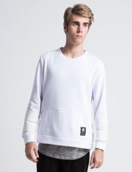 COURTESY OF White Parker Crewneck Sweatshirt Picture