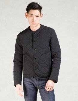CARVEN Black Veste Barbour Quilted Jacket Picture