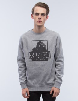XLARGE OG Logo Crewneck Fleece Sweatshirt Picture