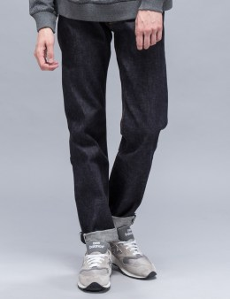 Maiden Noir Slim Fit Raw Selvage Denim Jeans Picture