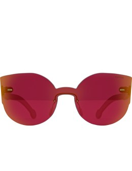 SUPER BY RETROSUPERFUTURE Tuttolente Lucia Red Sunglasses Picture