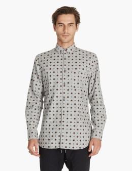 ZANEROBE Grey Mod Seven Ft L/s Shirt Picture