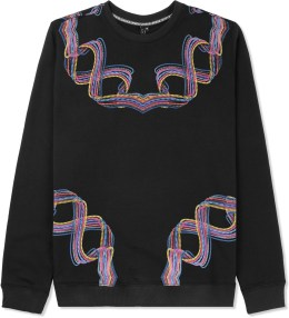 Uppercut Black Necklace Crewneck Sweater Picture