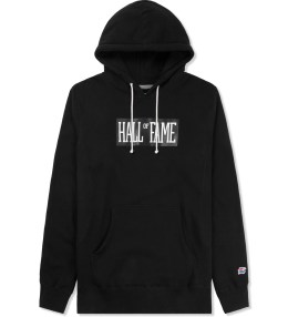 HALL OF FAME Black Logo Hoodie Picture
