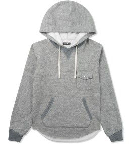 CASH CA Grey Roaming Sweat Parka Picture