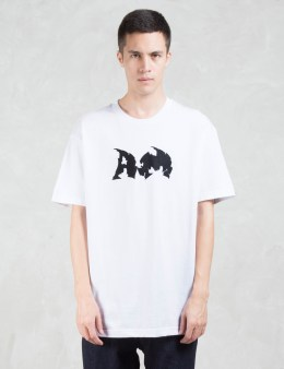 after midnight NYC Cracked AM Logo S/S T-Shirt Picture