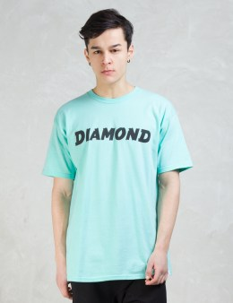 Diamond Supply Co. Painted T-shirt Picture