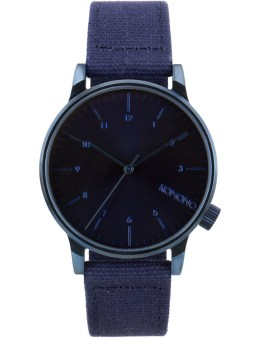 KOMONO Heritage Monotone Blue Winston Watch Picture