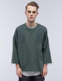 N.D.G. STUDIO Army Kimono Sweatshirt Picture