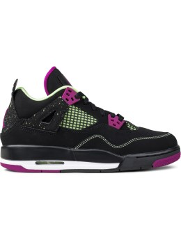 "Jordan Brand Air Jordan 4 ""30th Black Fuchsia"" GS Picture"