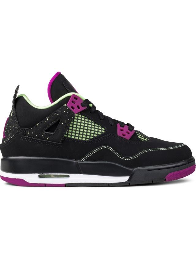 "Jordan Brand Air Jordan 4 ""30th Black Fuchsia"" GS"