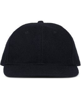 wings + horns Melton Wool 6-panel Hat Picture