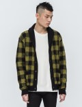 WACKO MARIA Mohair Block Check Cardigan (Type-1) Picture