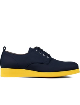 CARVEN Glazed Derby Shoes Picture