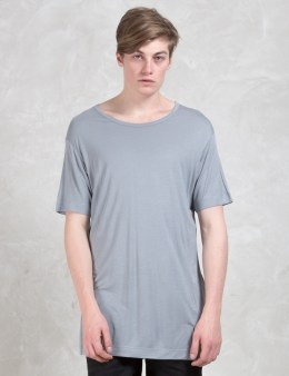 DIESEL BLACK GOLD T-jan-lf Viscose Jersey T-Shirt Picture