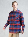 Acapulco Gold Deerfield Flannel Button Down Shirt Picture