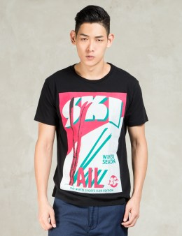 N.Hoolywood Black S/s Ski Vail T-Shirt Picture