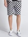 FUCT SSDD White/Black Checker Flag Shorts Picture