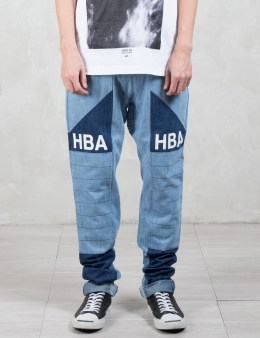Hood By Air. HBA Moto Jeans Picture