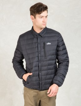 PENFIELD Black Naklin Packable Down Shirt Jacket Picture