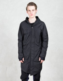 11 By Boris Bidjan Saberi Asymmetric Nylon Coat Picture