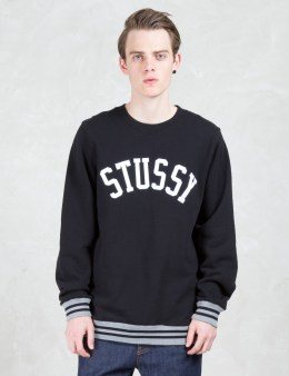 Stussy College Crewneck Sweatshirt Picture