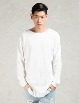 STAMPD White L/S Temper T-Shirt Picture