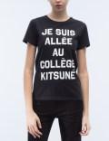 MAISON KITSUNE Je Suis Allee S/S T-Shirt Picture