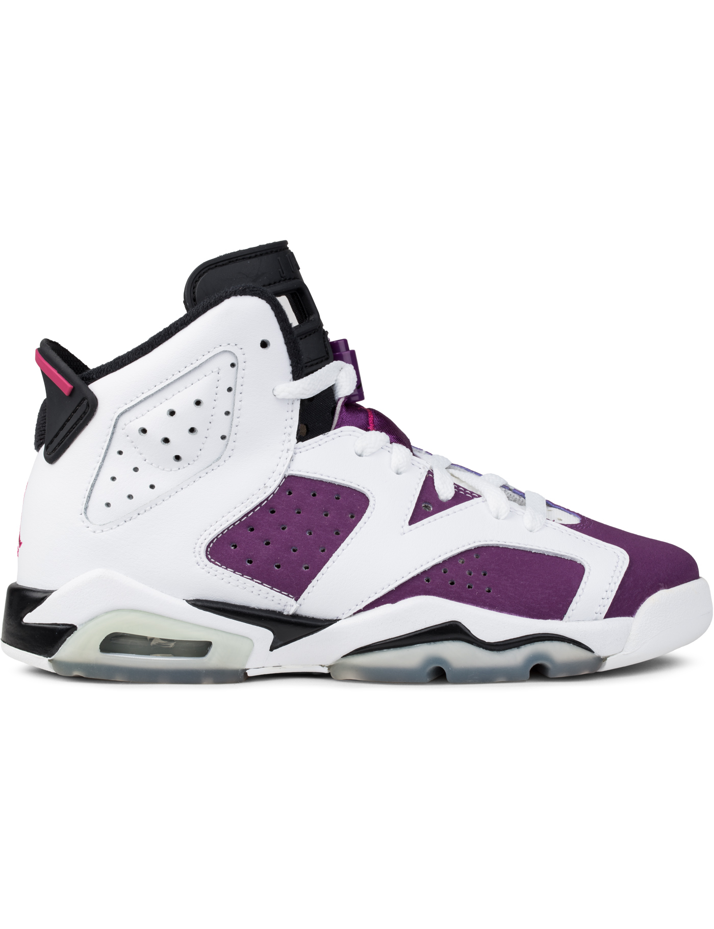 "Jordan Brand Air Jordan 6 ""White Bright Grape"" GS"