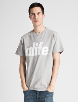 ALIFE Heather Grey Alife Core T-Shirt Picture