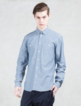 MAISON KITSUNE Chambray Shirt Picture