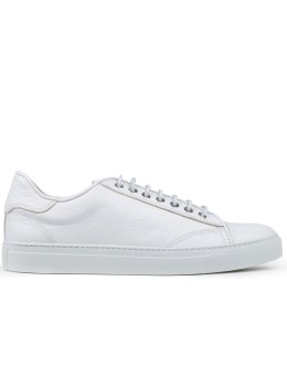 wings + horns Leather Low-Top Sneakers Picture
