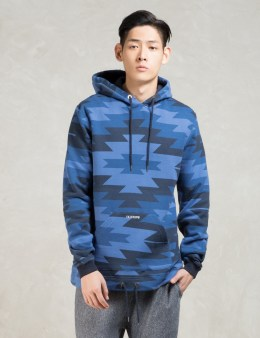 10.DEEP Navy Spirit Opened Bottom Hoodie Picture