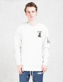 10.DEEP Shadowplay Badge Crewneck Sweatshirts Picture