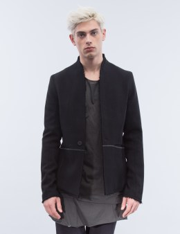 thom/krom Raw Edge Line Detail Blazer Picture