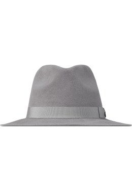 Larose Grey Small Fedora Hat Picture