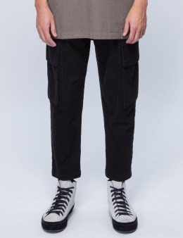HELMUT LANG Cropped Cargo Jeans Picture
