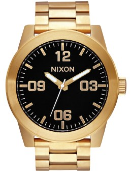 Nixon Corporal SS with Black Dail Picture