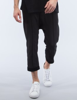 D BY D Velvet Hem Cropped Pants Picture