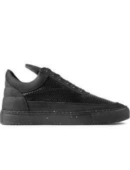 Filling Pieces Black 3M Mesh Silva Low Top Sneakers Picture
