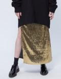 MISBHV Golden Sequin Skirt Picutre