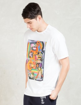 Stussy White Chaos T-Shirt Picture