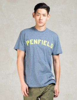 PENFIELD Blue Evanston Short Sleeve Crewneck T-Shirt Picture