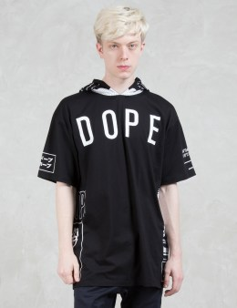 DOPE Branded Hooded T-Shirt Picture