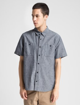 HUF Black Payday Chambray Shirt Picture
