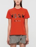 MSGM Brush Stroke Logo T-Shirt Picture