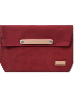buddy Red  Lead Clutch Bag  (M) Picture