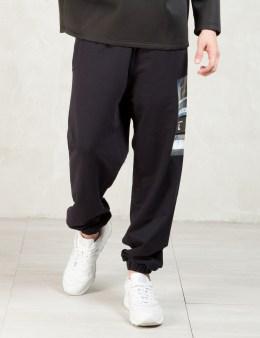 ASTRID ANDERSEN Black Side Logo Sweatpants Picture