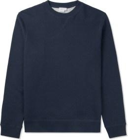 SUNSPEL Navy Melange Sweat Top Sweater Picture